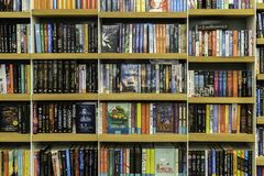 Wide Variety Of Books For Sale In Library Book Store royalty free stock photos