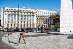 Bucharest, Romania- october 2015: VIEWS OF THE CITY OF BUCHAREST Royalty Free Stock Photo