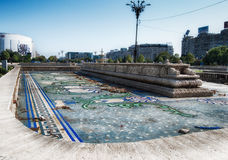 Bucharest, Romania- october 2015: VIEWS OF THE CITY OF BUCHAREST Stock Images