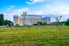 BUCHAREST, ROMANIA - Palace of Parliament, Stock Photography