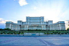 BUCHAREST, ROMANIA - Palace of Parliament, Stock Photos