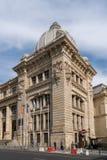 BUCHAREST/ROMANIA - 21. SEPTEMBER: Hauptsitze von CEC Bank in B lizenzfreie stockfotos