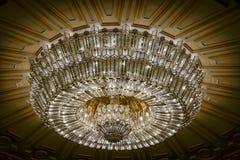 BUCHAREST/ROMANIA - SEPTEMBER 21: Inre sikt av slottnollan arkivfoto