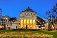 Bucharest, Romanian Athenaeum Royalty Free Stock Image