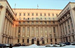 Bucharest Rumänien - tidigare kommunisthögkvarter Fotografering för Bildbyråer