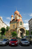 Bucharest - The Russian Church stock photo