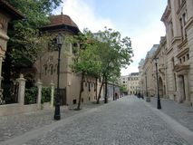 Bucharest's Old Town Royalty Free Stock Photos