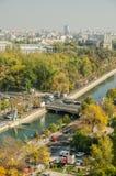 Bucharest sikt royaltyfri foto