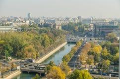 Bucharest sikt royaltyfri fotografi