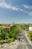 Bucharest sikt royaltyfri bild