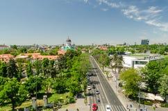 Bucharest sikt arkivfoton