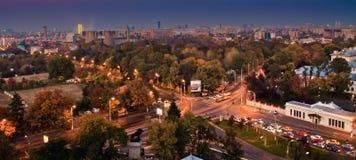 Bucharest sikt Fotografering för Bildbyråer