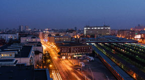 Bucharest sikt Royaltyfria Foton