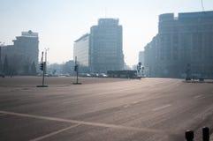 Bucharest squares Royalty Free Stock Image