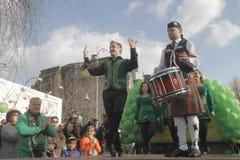 Bucharest St Patrick Parade Royalty Free Stock Photos