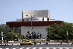 Bucharest Stary Grodzki Monumentalny budynek w Rumunia fotografia stock
