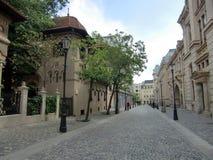 Bucharest Stary miasteczko Zdjęcia Royalty Free