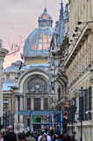 Bucharest Stary miasto Zdjęcia Stock