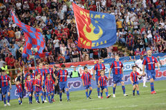bucharest steaua Royaltyfri Bild