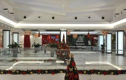 Bucharest, Stycznia 05-Christmas dekoracje Fotografia Stock