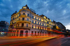 Bucharest at Sunset Stock Photos