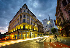 Bucharest at Sunset Royalty Free Stock Images