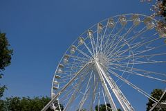 Bucharest Theme Park. In the middle of summer Stock Photo