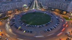 Bucharest timelapse , Romania stock footage