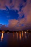 Bucharest - Tineretului Park and lake Stock Photos