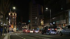 Bucharest traffic stock footage