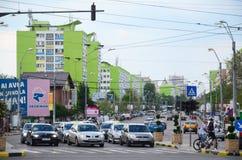 Bucharest - Traffic royalty free stock photography