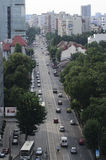 Bucharest - Traffic Royalty Free Stock Photos