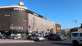 Bucharest uliczna fotografia Bershka i Koton sklepy - Unirii kwadrat - zbiory