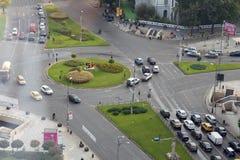 Bucharest - universitetar kvadrerar Royaltyfri Foto