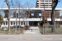 Bucharest university philosophy college. View of the Bucharest university philosophy college Stock Photo