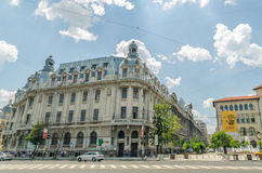 Bucharest University Royalty Free Stock Photography
