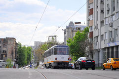 Bucharest Uranus boulevard Royalty Free Stock Image