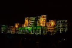 Bucharest 555 urodziny Obrazy Royalty Free