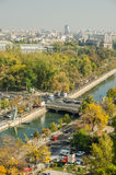 Bucharest View Royalty Free Stock Photo