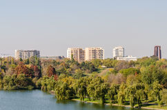 Bucharest View In Late Autumn October royalty free stock image