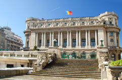 Bucharest view - National Army Palace Royalty Free Stock Photos