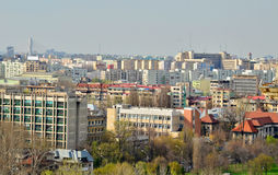 Bucharest view Stock Images