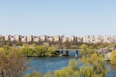 Bucharest View From Tineretului Park Stock Images