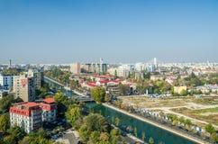 Bucharest Widok obrazy royalty free