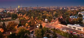Bucharest widok Obraz Stock
