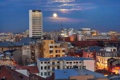 Bucharest widok z lotu ptaka Obraz Stock