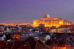 Bucharest widok z lotu ptaka Obraz Royalty Free