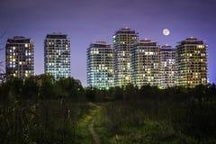 Bucharest widzieć przez obiektywu badacz Fotografia Stock