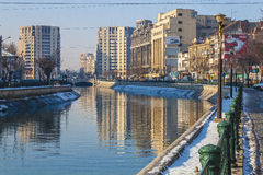Bucharest in winter Royalty Free Stock Photos