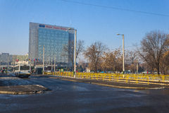 Bucharest in winter Stock Photography